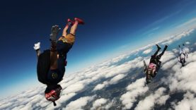 """Skydive Miami """"Neverland"""" Head down exit / angle fly"""