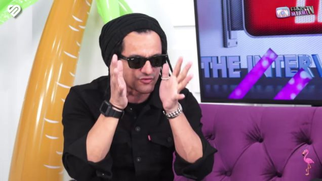 """The interview with Salim Rubiales. """"Huey Dunbar"""""""