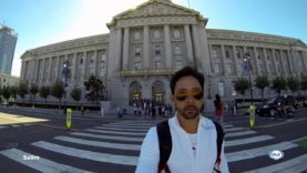 War Memorial Opera House & San Francisco City Hall en San Francsico, Califronia