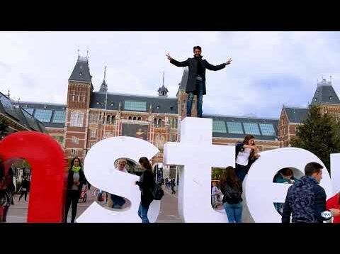 Amsterdam Capital of the Netherlands by Salim Rubiales / Vida Miami TV